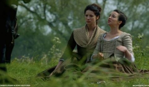 Characters Claire and Jenny saved the day - crisis averted! Image via: Pinterest