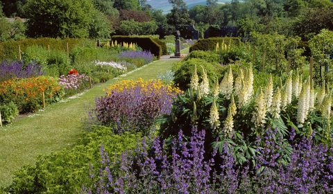 The Walled Garden at Culzean Castle, South Ayrshire.