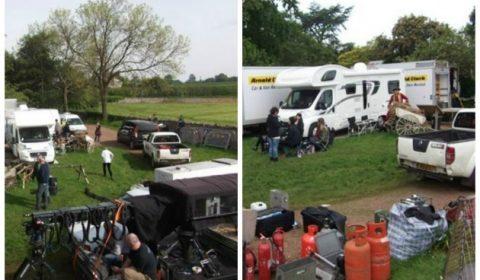Film Crew Car Park