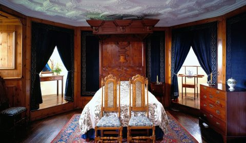 """Blue Bedroom"" at Craigievar Castle"