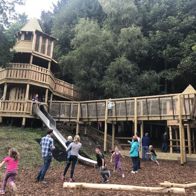 Wild Wood Playground at Crathes Castle