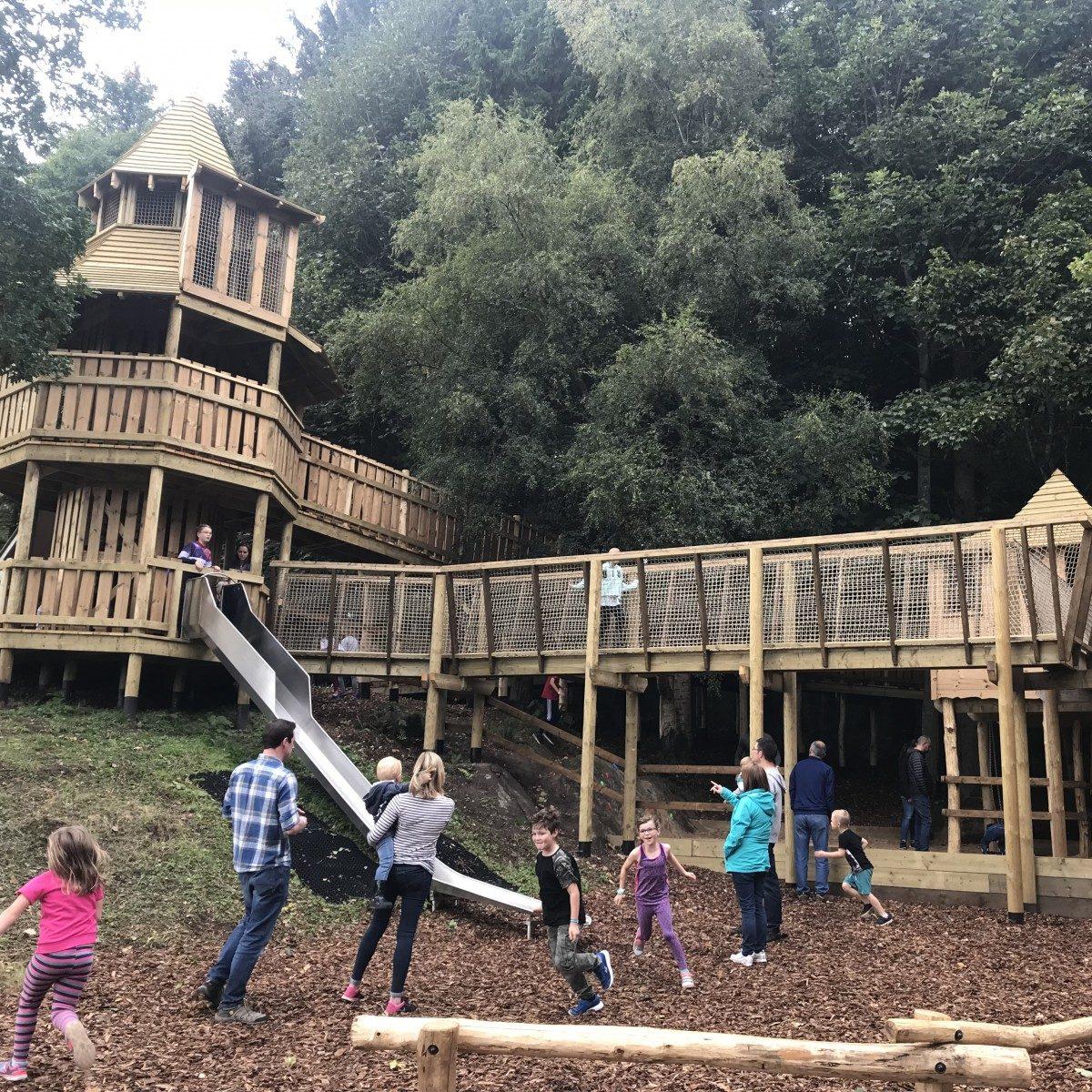 Modern Playground Park