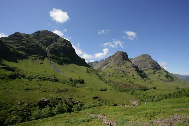 Three Sisters Glencoe Scotland