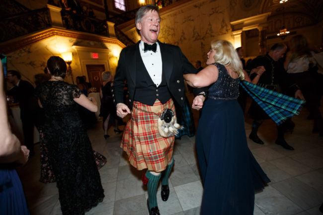 Scottish country dancing