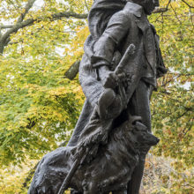 Boston Burns statue