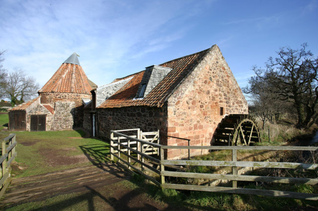 Preston Mill's Water Wheel