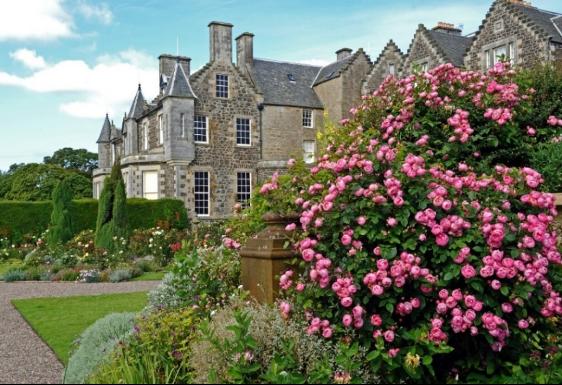 Balcarres gardens